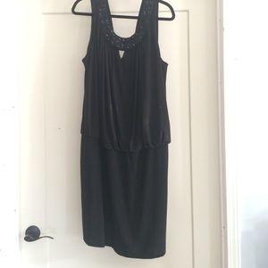 "Onyx Nite Evening Dress ""little black dress"""