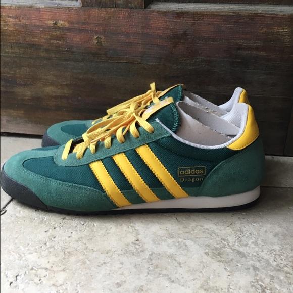 MEN'S Adidas dragon sneakers Greenyellow