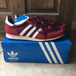 Adidas Shoes - MEN S Adistar Racer sneakers Maroon Red Size ... 4f8a95288