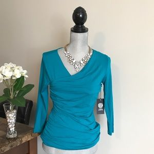 Vince Camuto teal blouse!