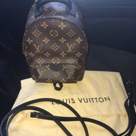 d796c04c85a5 Louis Vuitton Handbags - PALM SPRINGS BACKPACK MINI