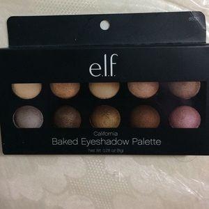 ELF Other - 🆕 Elf Baked Eye shadow California Palette