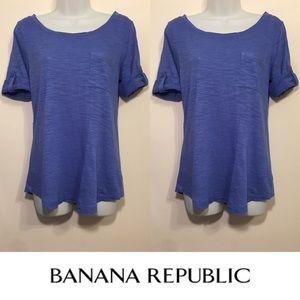 Banana Republic Tops - 🍍CLEARANCE🍍 Banana Republic Periwinkle Top