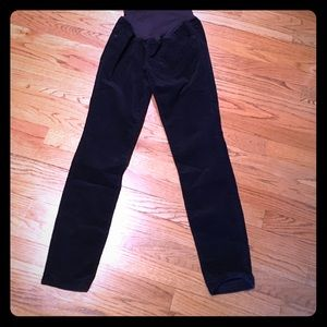 Pants - Old Navy maternity skinny corduroy pants