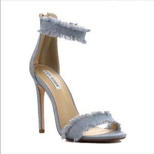 Shoes - Denim strap heel😍