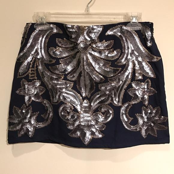 Free People Dresses & Skirts - Sequin skirt