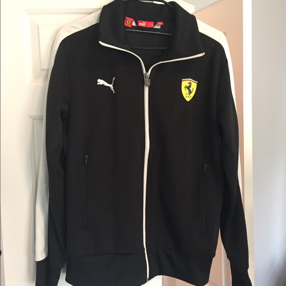 Ferrari zip up jacket