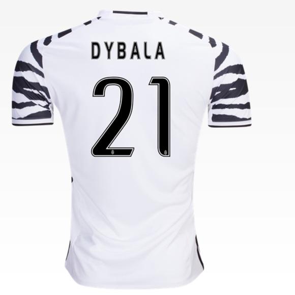 save off 36b1e 28870 NWTadidas-paulo dybala juventus third jersey-16-17