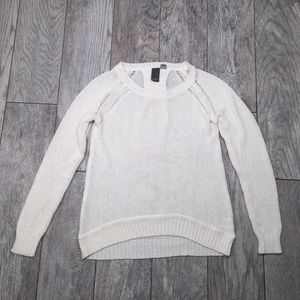 Francesca's Collections Sweaters - Francesca's Collection Quinn ivory sweater