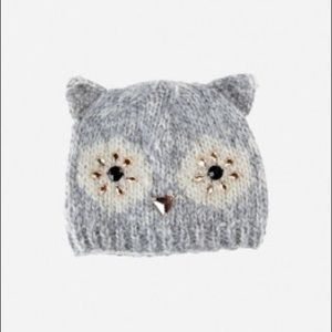 San Diego Hat Company Other - Owl Beanie with Faux Gems