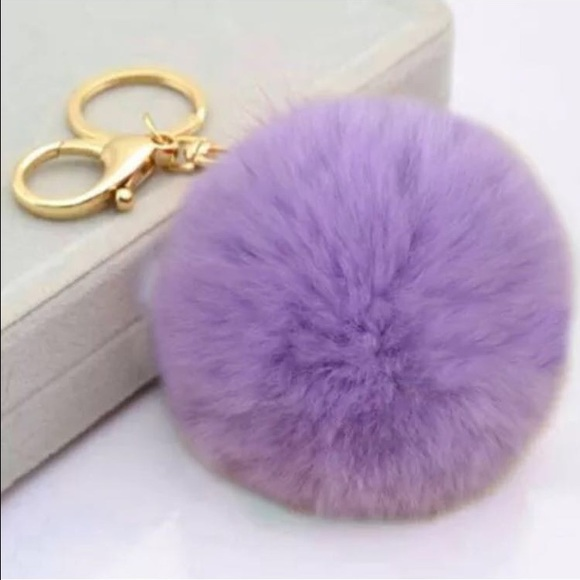 Accessories - Soft Fur Poof Keychain 2f6e3bf8a7