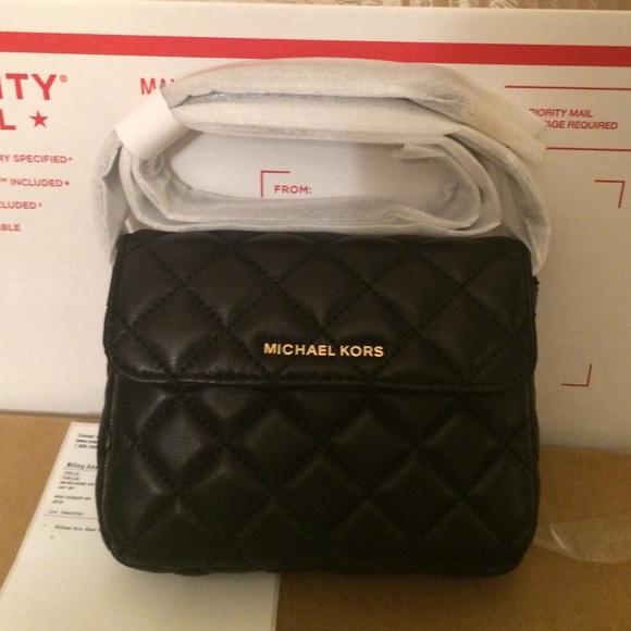 🔥LAST ONE🔥 Michael Kors Sloan Belt Bag Black 0e1910116386d