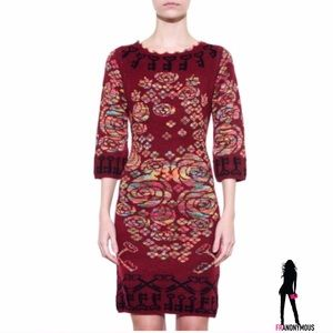 Style Mafia Red Key Dress S M L