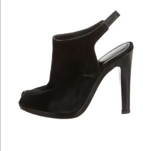 Jil Sander Shoes - ⚡️SALE⚡️JIL SANDER SLINGBACK PEEP-TOE BOOTIES