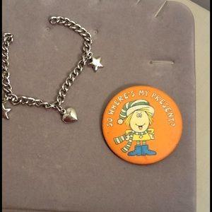 Jewelry - Bracelet and stick pin