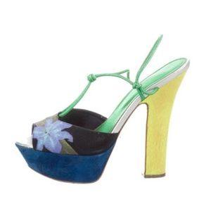 Sergio Rossi Shoes - ❗️SALE❗SERGIO ROSSI PLATFORM SANDALS