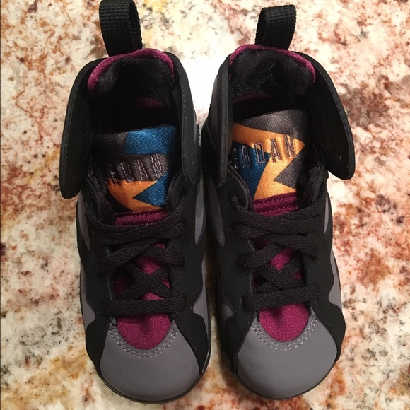 hot sales 257a1 08a9b Toddler Jordan Retro 7 Bordeaux NWT