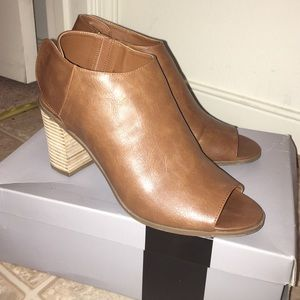 Massimo Rebecchi Shoes - Kacie brown heels