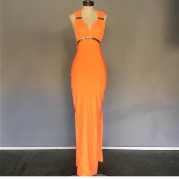 4c424d34ff82 House of CB Dresses | Orange And Gold Maxi Dress | Poshmark
