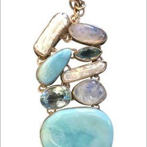 SaleHandmade Stone Toggle Bracelet