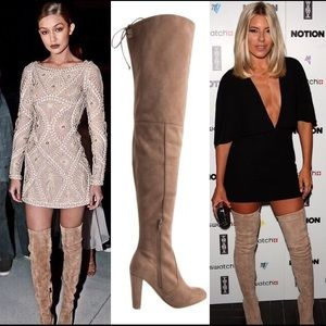 Leoninus Shoes - 🏆HOST PICK🏆 Thigh High Boots Taupe