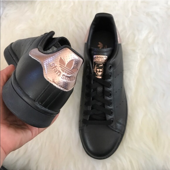 adidas stan smith black size 5 adidas shoes for girls new