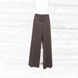 "Theory Pants - Theory ""Caren"" Stretch Cotton Wide Leg Pants"
