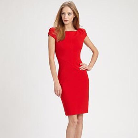 369e34af627 Diane von Furstenberg Helen Ponte Sheath Dress