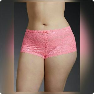 JUST IN! NWT Lace Cheeky Panty