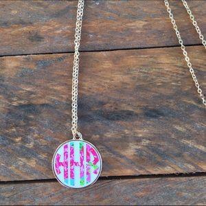 Lilly Pulitzer Jewelry - Custom Long Monogram Necklace