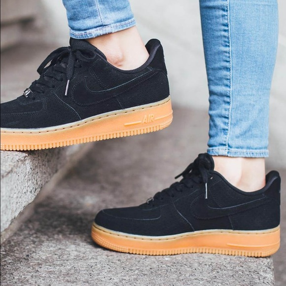 Nike Shoes | Suede Nike Air Force Gum
