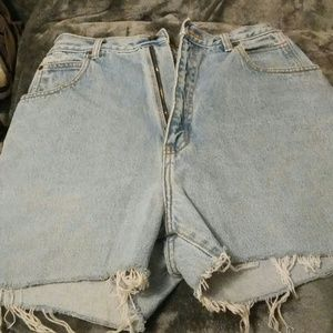 Pants - Regular jean shorts