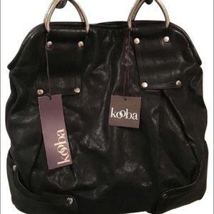 New- Kooba Callie Leather Handbag