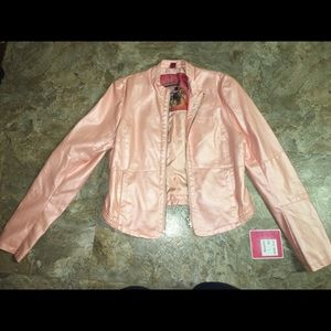 Collection B Jackets & Blazers - Baby pink jacket