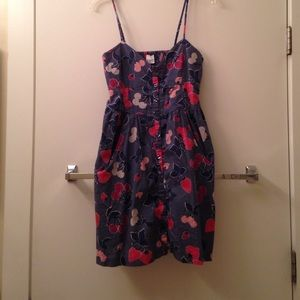 Button down fruit dress