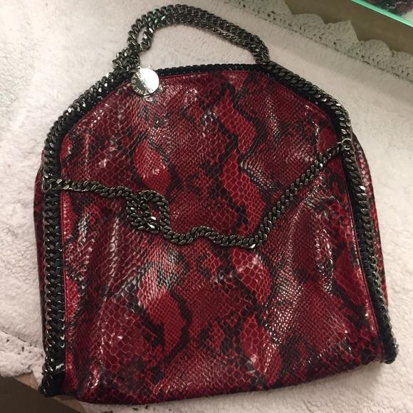 91ba3d9b4cb9 Stella McCartney Falabella Faux Python Bag