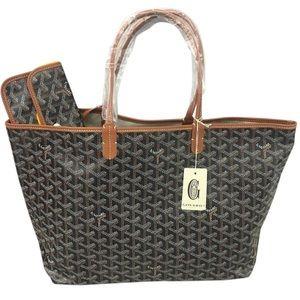 Goyard Handbags - ✨ BNWT Auth Goyard St Louis PM tote bag black/tan