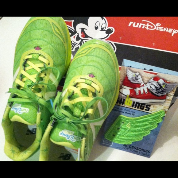 tinkerbell new balance running shoes