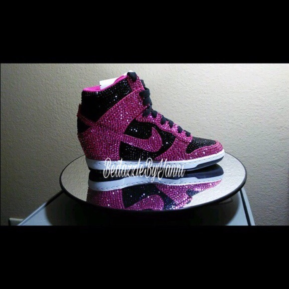 Nike Shoes | Bling Out Nike Wedges