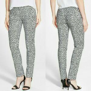 Michael Kors Pants - 🎉HP🎉 MICHAEL KORS Miranda Leopard Skinny Pants