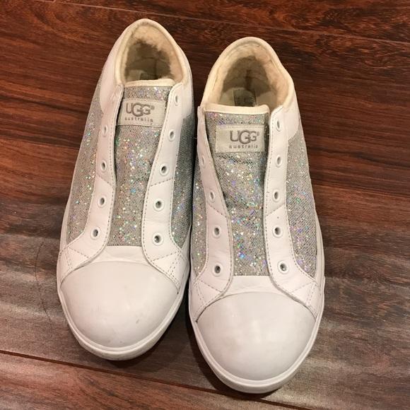 UGG sneakers Glitter white