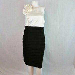 Jessica Howard Dresses & Skirts - Jessica Howard One Shoulder Bandage Dress Size 22W