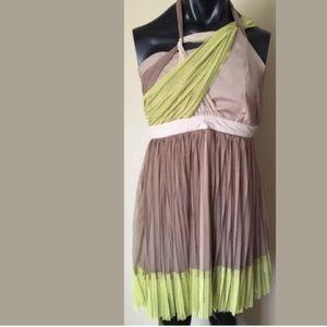 Anthropologie RYU tulle boho dress large NWT