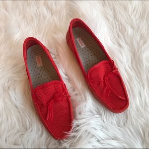 Swims Shoes - 💚💚 RED SWIMS LOAFERS B14