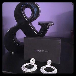 bebe Jewelry - 💎Bebe Diamond Hoop Earrings 💎