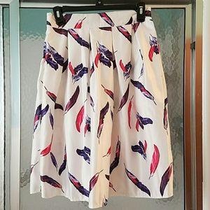 Dresses & Skirts - Feather design full high waist skirt
