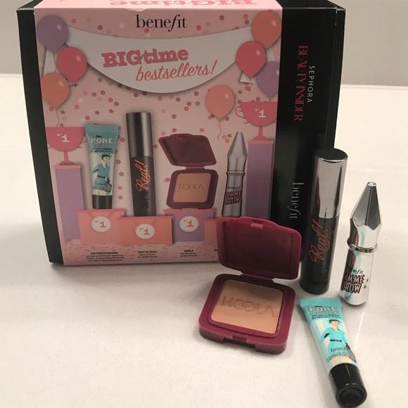 715bb610250 Benefit Makeup | Bigtime Bestsellers Kit | Poshmark