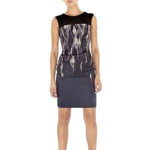 Karen Millen Dresses & Skirts - Karen Millen Feather Print  Bodycon Dress