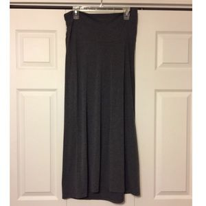 Old Navy Dresses & Skirts - Maternity--Charcoal grey maxi skirt