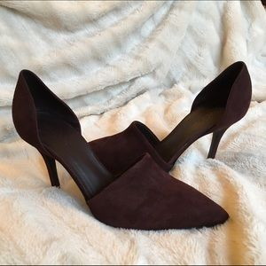 Vince Shoes - Vince. Claire Suede d'Orsay Pumps